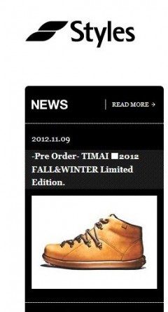 b05c2a8e93d0b8 Pre Order- TIMAI 2012 F&W Limited Edition.