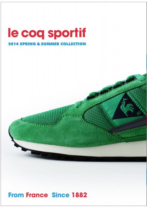 sports shoes a6c0b 21215 le coq sportif 2014 SPRING   SUMMER COLLECTION From France Since 1882.  Presented by SHOES MASTER Photo  Kengo Shimizu(STUH)