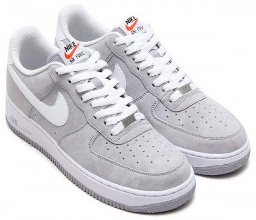 """quality design a0de3 af0a6 NIKE AIR FORCE 1 """"SUEDE PACK"""" 2014 HOLIDAY. GYM RED WHITE. WOLF GREY WHITE"""
