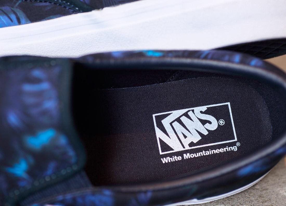 3e35b94b75a5 White Mountaineering × VANS SLIP-ON