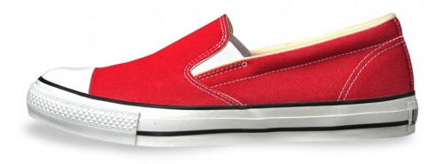 COLORDENIM-SLIP-ON-RED