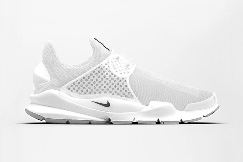 "wholesale dealer ccd6b 91100 Nike Sock Dart ""Triple White"" | SHOES MASTER"