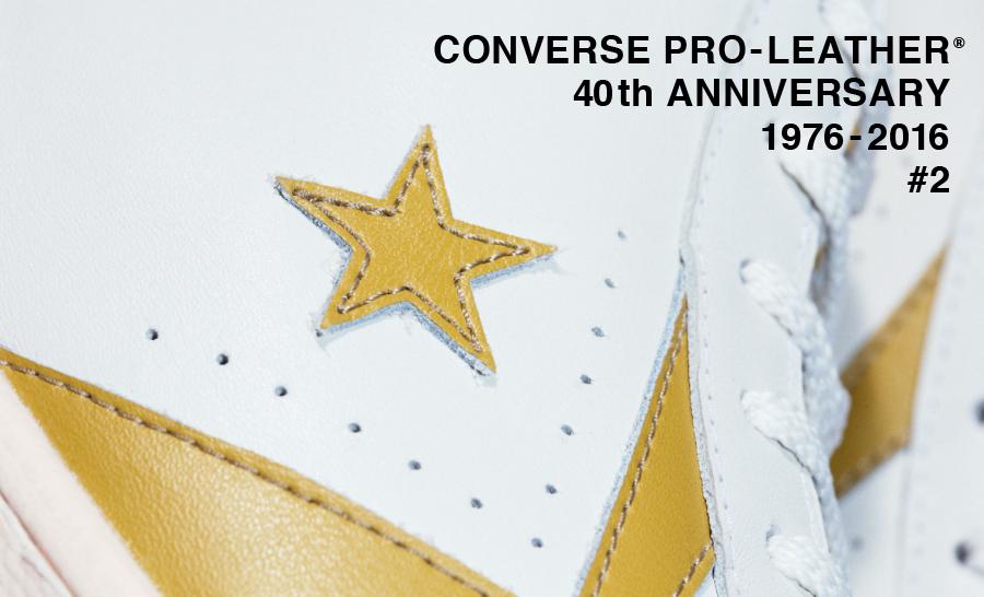 CONVERSE PRO-LEATHER® #2 TimeLine