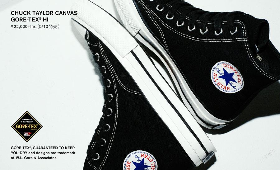 9f8be61d9217 CHUCK TAYLOR CANVAS GORE-TEX® HI