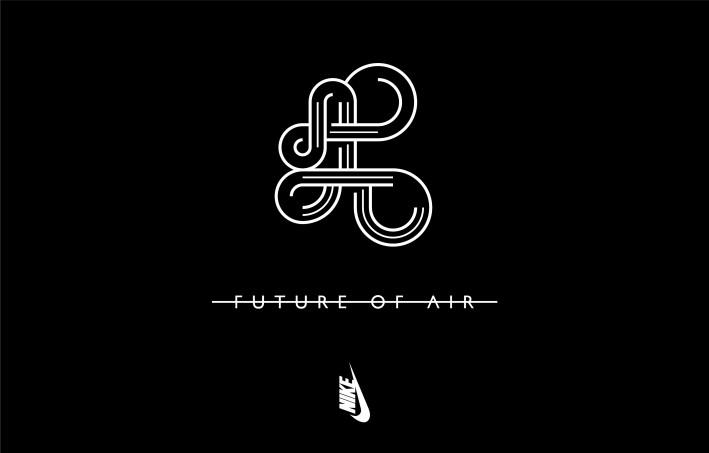 【NIKELAB】 「先」 FUTURE OF AIRプロジェクト キービジュアル